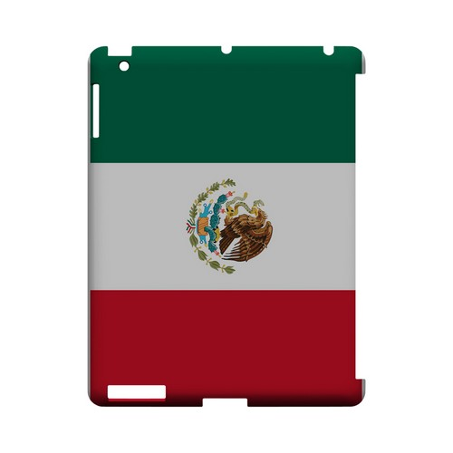 Mexico Geeks Designer Line Flag Series Slim Hard Case for Apple iPad (3rd & 4th Gen.)