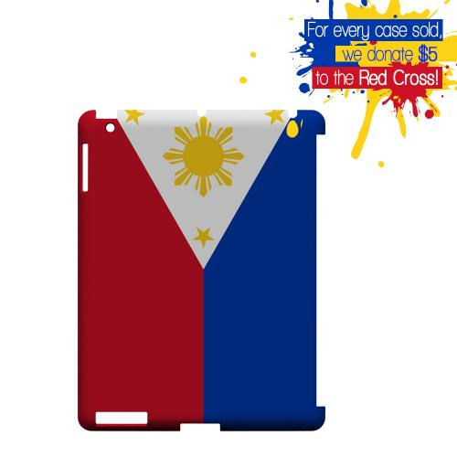 Philippines Geeks Designer Line Flag Series Slim Hard Case for Apple iPad (3rd & 4th Gen.)