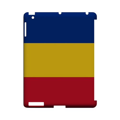 Romania Geeks Designer Line Flag Series Slim Hard Case for Apple iPad (3rd & 4th Gen.)