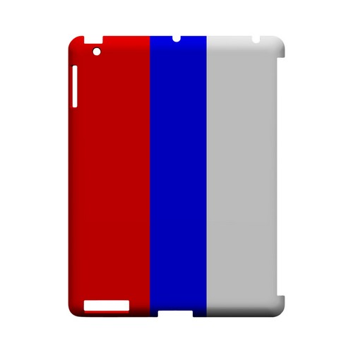 Russia Geeks Designer Line Flag Series Slim Hard Case for Apple iPad (3rd & 4th Gen.)