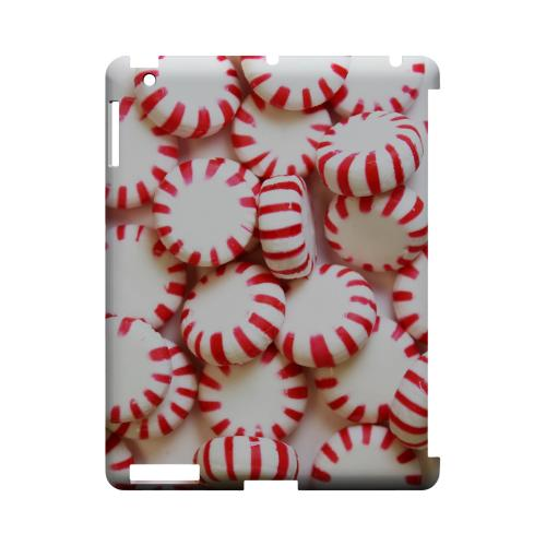 Peppermints Geeks Designer Line Candy Series Slim Hard Back Cover for Apple iPad (3rd & 4th Gen.)