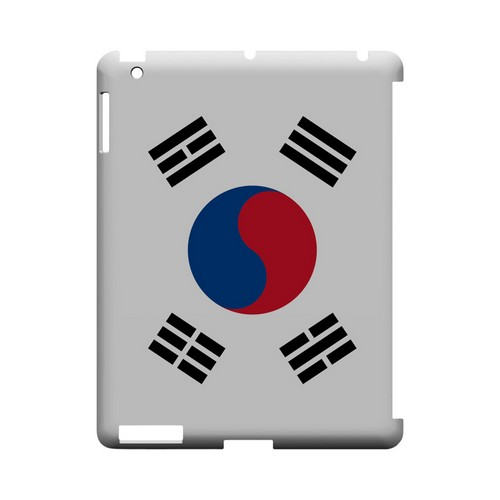 South Korea Geeks Designer Line Flag Series Slim Hard Case for Apple iPad (3rd & 4th Gen.)