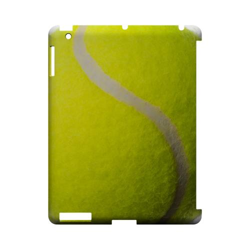 Tennis Ball Geeks Designer Line Sports Series Slim Hard Case for Apple iPad (3rd & 4th Gen.)