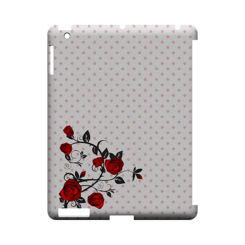 Rose Vine Geeks Designer Line Polka Dot Series Slim Hard Case for Apple iPad (3rd & 4th Gen.)