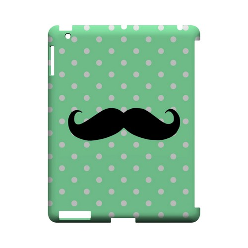 Stache on Mint Geeks Designer Line Polka Dot Series Slim Hard Case for Apple iPad (3rd & 4th Gen.)