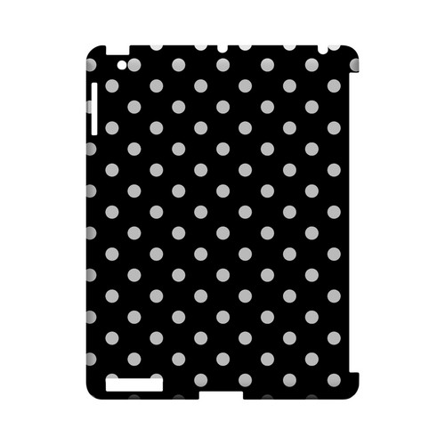 White Dots on Black Geeks Designer Line Polka Dot Series Slim Hard Case for Apple iPad (3rd & 4th Gen.)