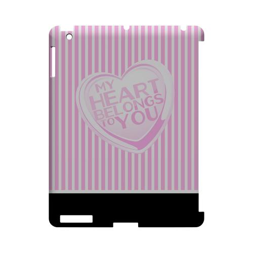My Heart Geeks Designer Line Heart Series Slim Hard Case for Apple iPad (3rd & 4th Gen.)