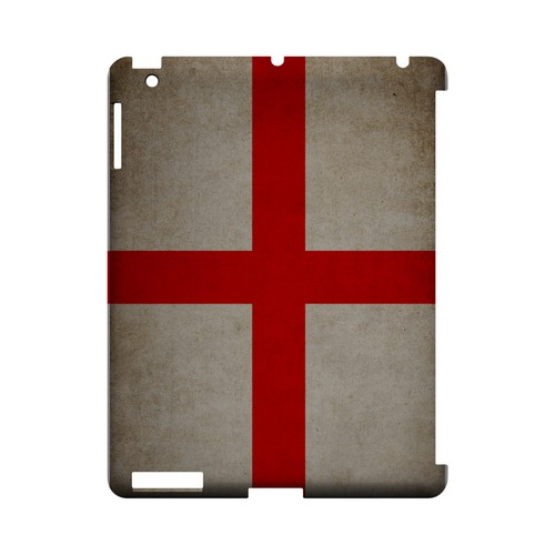 Grunge England Geeks Designer Line Flag Series Slim Hard Case for Apple iPad (3rd & 4th Gen.)