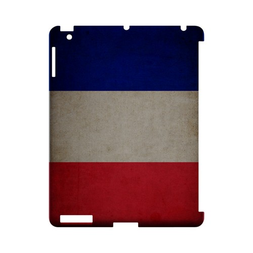Grunge France Geeks Designer Line Flag Series Slim Hard Case for Apple iPad (3rd & 4th Gen.)
