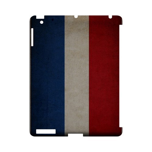 Grunge Netherlands Geeks Designer Line Flag Series Slim Hard Case for Apple iPad (3rd & 4th Gen.)