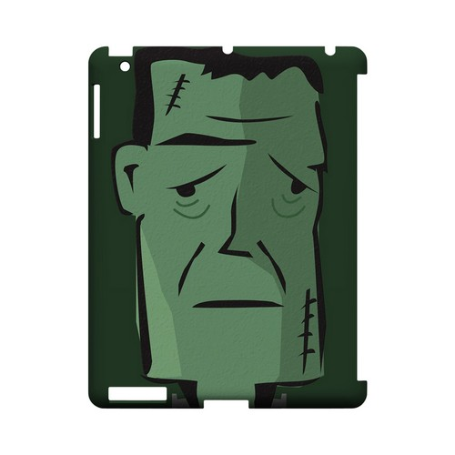 Lonely Frankenstein - Geeks Designer Line (GDL) Monster Mash Series Hard Back Cover for Apple iPad (3rd & 4th Gen.)