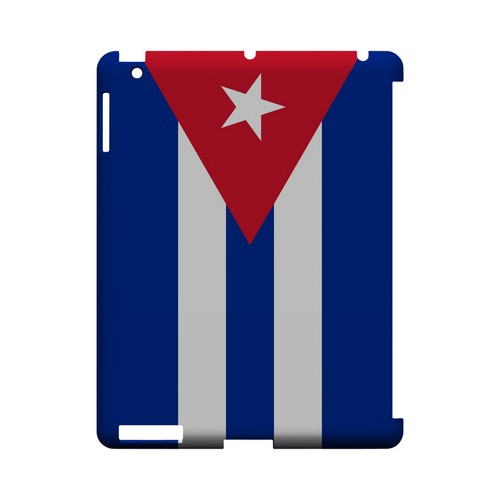 Cuba Geeks Designer Line Flag Series Slim Hard Case for Apple iPad (3rd & 4th Gen.)