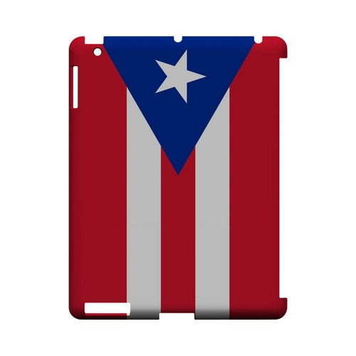 Puerto Rico Geeks Designer Line Flag Series Slim Hard Case for Apple iPad (3rd & 4th Gen.)
