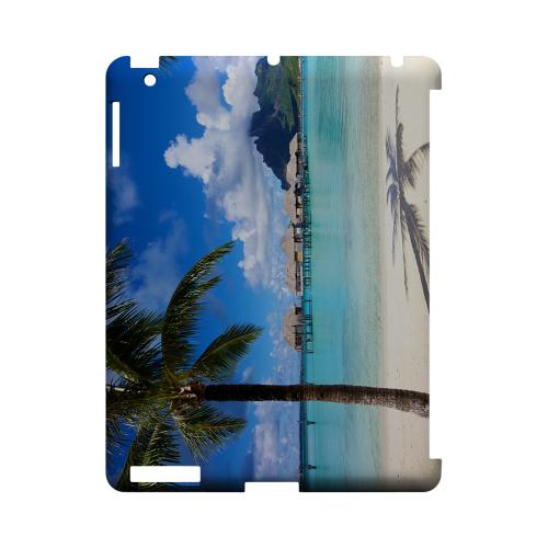 Bora Bora Geeks Designer Line Beach Series Slim Hard Case for Apple iPad (3rd & 4th Gen.)
