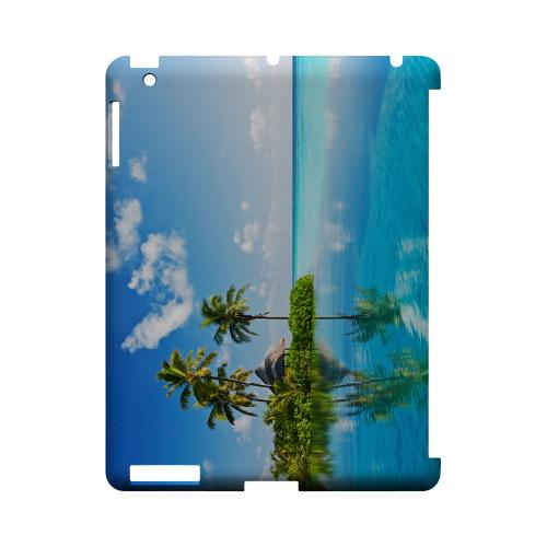 Tropical Paradise Geeks Designer Line Beach Series Slim Hard Case for Apple iPad (3rd & 4th Gen.)