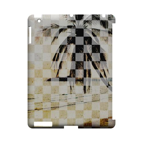 Palm Tree - Geeks Designer Line Checker Series Hard Case for Apple iPad (3rd & 4th Gen.)