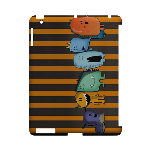 ZORGBLATS Line Up - Geeks Designer Line (GDL) Monster Mash Series Hard Back Cover for Apple iPad (3rd & 4th Gen.)