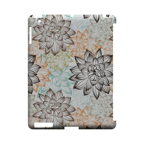 Floral Explosion - Geeks Designer Line Floral Series Hard Case for Apple iPad (3rd & 4th Gen.)