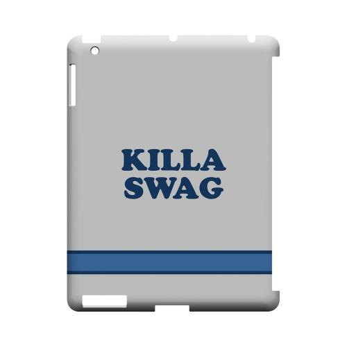 Killa Swag - Geeks Designer Line Swag Series Hard Case for Apple iPad (3rd & 4th Gen.)