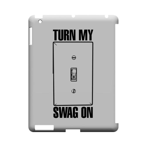 Light Switch - Geeks Designer Line Swag Series Hard Case for Apple iPad (3rd & 4th Gen.)