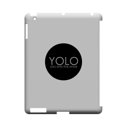 YOLO Circle - Geeks Designer Line YOLO Series Hard Case for Apple iPad (3rd & 4th Gen.)