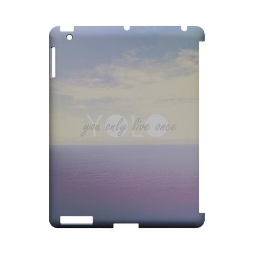Filled YOLO - Geeks Designer Line YOLO Series Hard Case for Apple iPad (3rd & 4th Gen.)