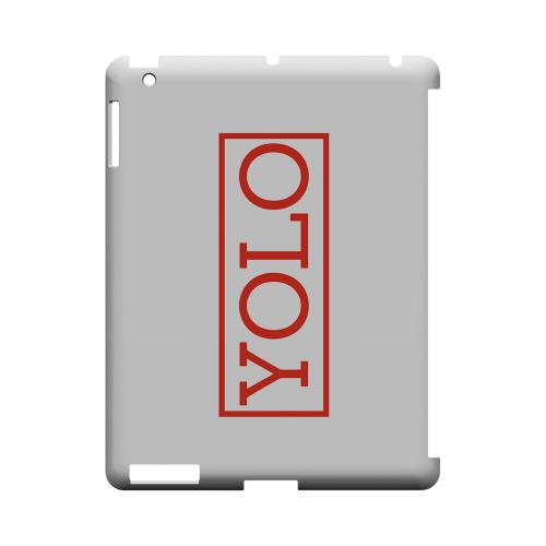 Red YOLO - Geeks Designer Line YOLO Series Hard Case for Apple iPad (3rd & 4th Gen.)