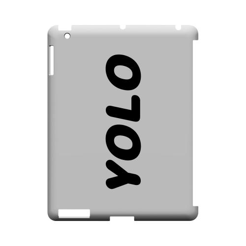 Rounded YOLO - Geeks Designer Line YOLO Series Hard Case for Apple iPad (3rd & 4th Gen.)
