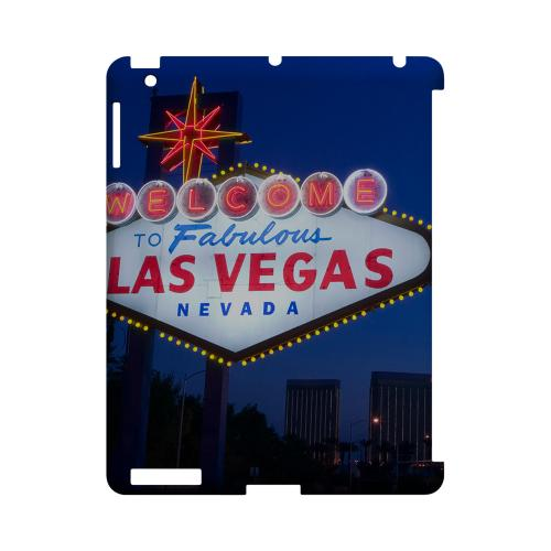 Las Vegas - Geeks Designer Line City Series Hard Case for Apple iPad (3rd & 4th Gen.)