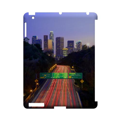 Los Angeles - Geeks Designer Line City Series Hard Case for Apple iPad (3rd & 4th Gen.)