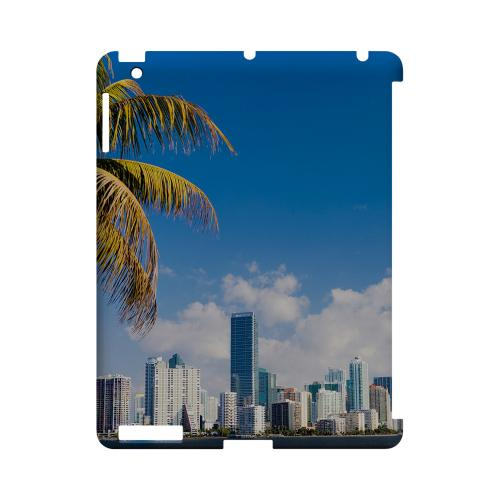 Miami - Geeks Designer Line City Series Hard Case for Apple iPad (3rd & 4th Gen.)