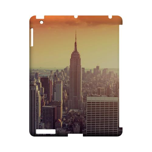 New York - Geeks Designer Line City Series Hard Case for Apple iPad (3rd & 4th Gen.)