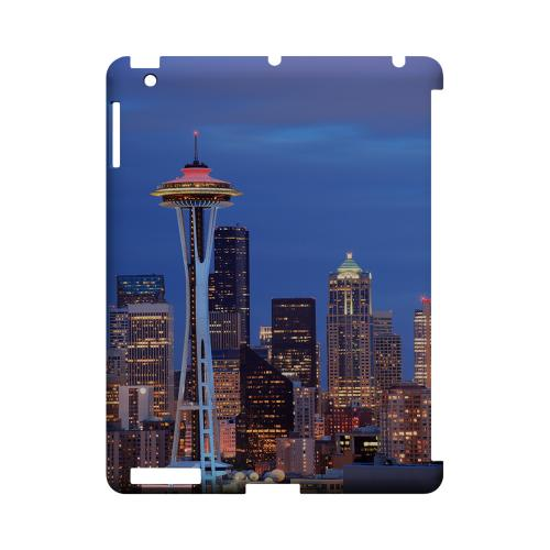 Seattle - Geeks Designer Line City Series Hard Case for Apple iPad (3rd & 4th Gen.)