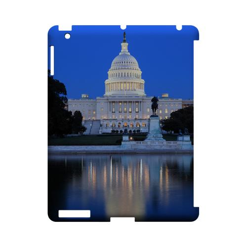 Washington D.C. - Geeks Designer Line City Series Hard Case for Apple iPad (3rd & 4th Gen.)