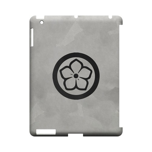 Kikyo Kamon on Paper v.4 - Geeks Designer Line Tattoo Series Hard Case for Apple iPad (3rd & 4th Gen.)