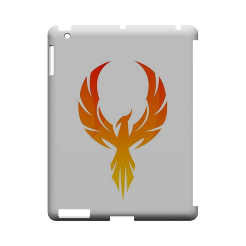 Phoenix Flame - Geeks Designer Line Tattoo Series Hard Case for Apple iPad (3rd & 4th Gen.)
