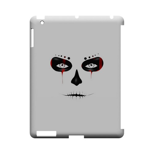 Skull Face Blood - Geeks Designer Line Tattoo Series Hard Case for Apple iPad (3rd & 4th Gen.)