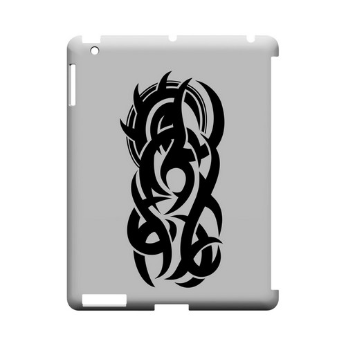Tribal - Geeks Designer Line Tattoo Series Hard Case for Apple iPad (3rd & 4th Gen.)