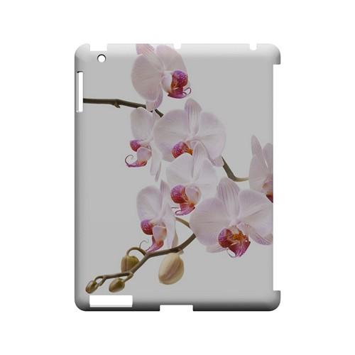 White Pink Orchid - Geeks Designer Line Floral Series Hard Case for Apple iPad (3rd & 4th Gen.)