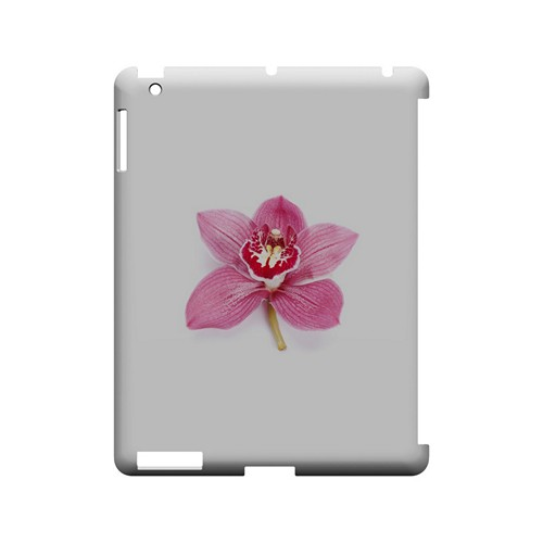 Single Pink Orchid Flower - Geeks Designer Line Floral Series Hard Case for Apple iPad (3rd & 4th Gen.)