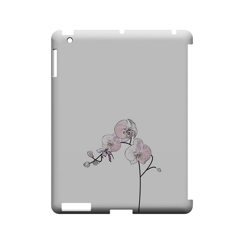 Lonely Orchid - Geeks Designer Line Floral Series Hard Case for Apple iPad (3rd & 4th Gen.)