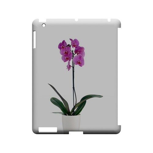 Hot Pink Orchid Plant - Geeks Designer Line Floral Series Hard Case for Apple iPad (3rd & 4th Gen.)