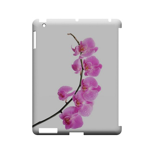 Hot Pink Orchid Curved Branch - Geeks Designer Line Floral Series Hard Case for Apple iPad (3rd & 4th Gen.)