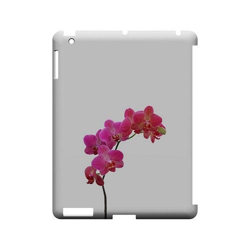 Hot Pink Orchid Branch - Geeks Designer Line Floral Series Hard Case for Apple iPad (3rd & 4th Gen.)
