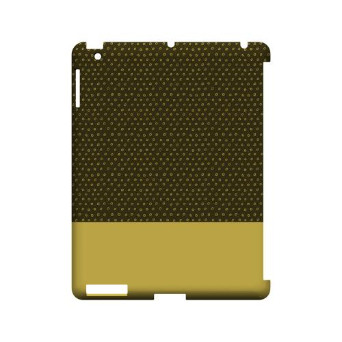 Little Circle Dots Lemon Zest - Geeks Designer Line Pantone Color Series Hard Case for Apple iPad (3rd & 4th Gen.)