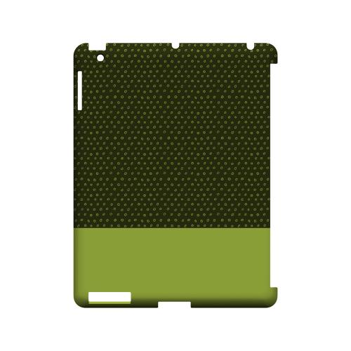 Little Circle Dots Tender Shoots - Geeks Designer Line Pantone Color Series Hard Case for Apple iPad (3rd & 4th Gen.)