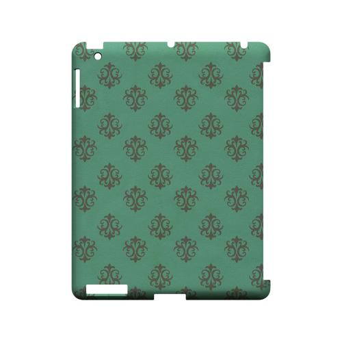 Ornamental Emerald - Geeks Designer Line Pantone Color Series Hard Case for Apple iPad (3rd & 4th Gen.)
