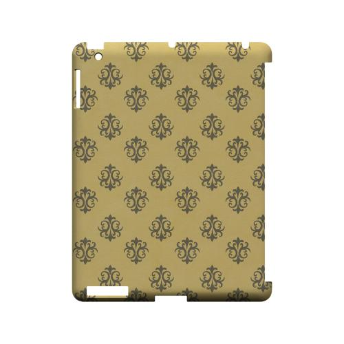 Ornamental Lemon Zest - Geeks Designer Line Pantone Color Series Hard Case for Apple iPad (3rd & 4th Gen.)