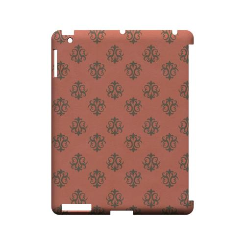 Ornamental Poppy Red - Geeks Designer Line Pantone Color Series Hard Case for Apple iPad (3rd & 4th Gen.)