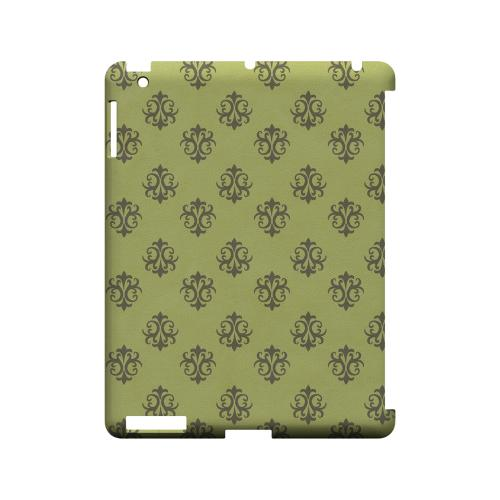 Ornamental Tender Shoots - Geeks Designer Line Pantone Color Series Hard Case for Apple iPad (3rd & 4th Gen.)